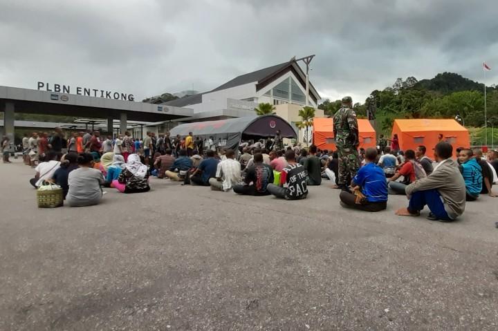 Malaysia Deportasi 246 Pekerja Migran Indonesia