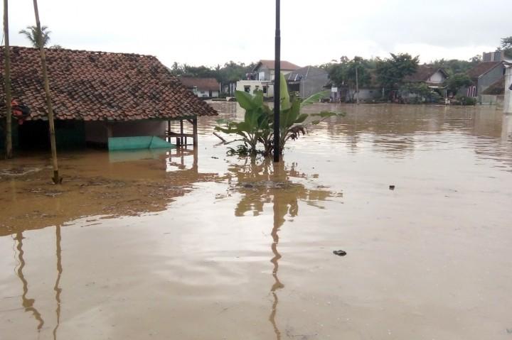 Banjir Terjang Tasikmalaya, Ratusan Rumah Terendam