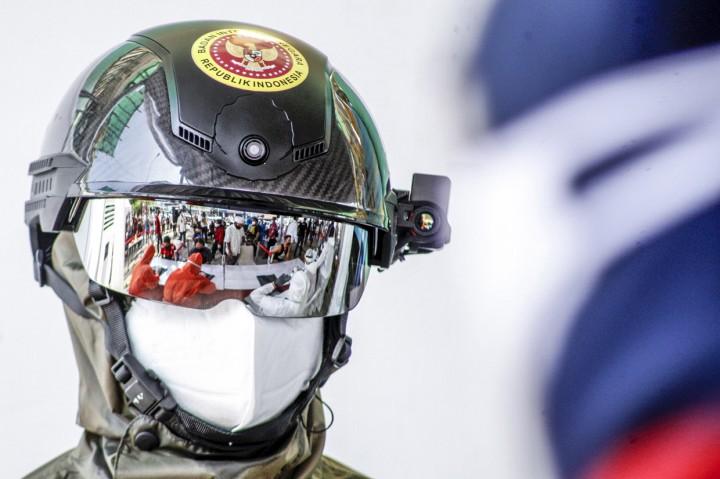 BIN Gelar Rapid Test Massal di Cibinong Bogor