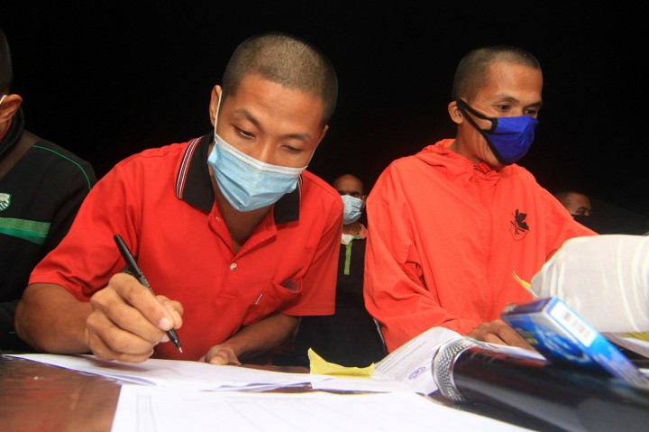 Malaysia Kembali Deportasi 95 Pekerja Migran Indonesia