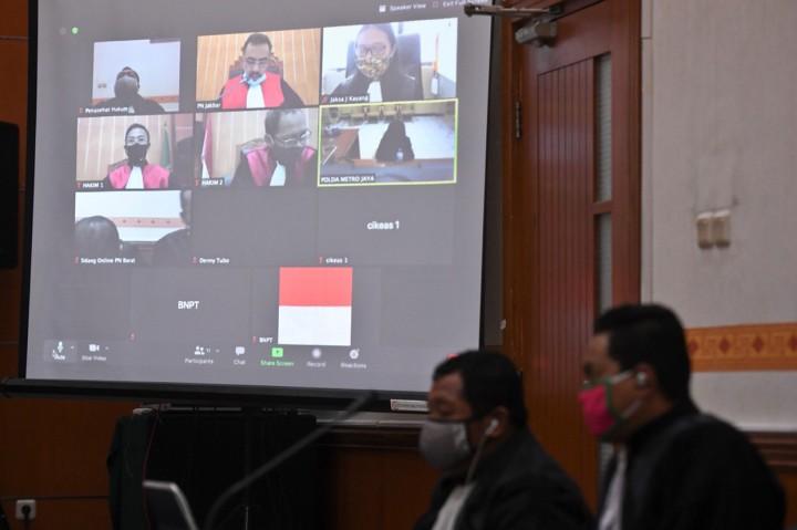 Penusuk Wiranto Divonis 12 Tahun Bui