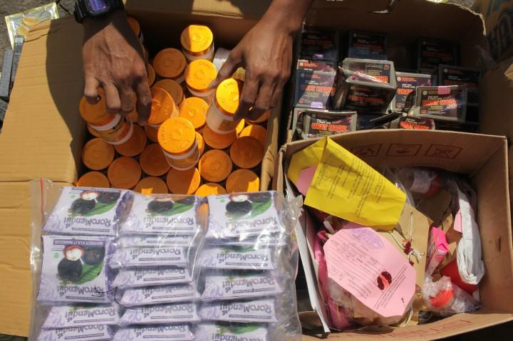 Kejari Tanjung Perak Musnahkan Barang Bukti Narkoba dari 116