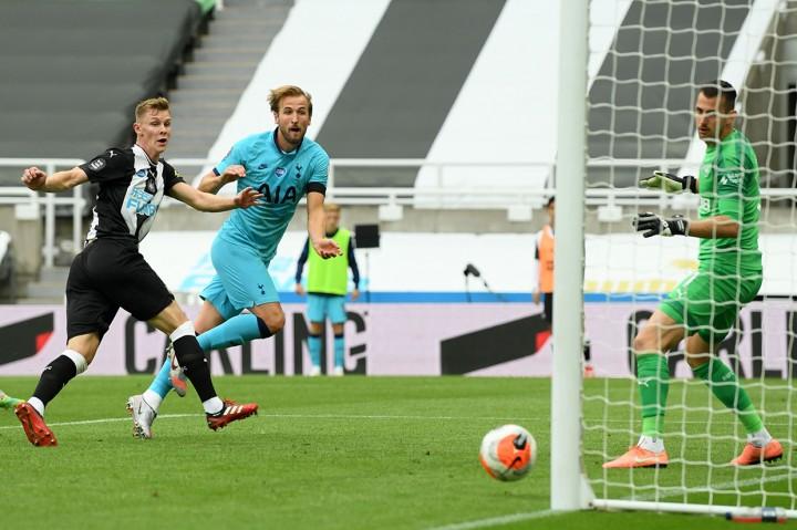 Dua Gol Kane Bawa Tottenham Tundukkan Newcastle