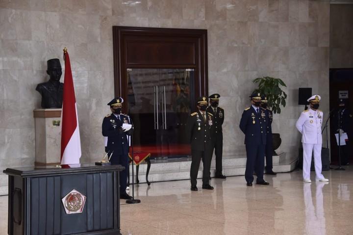 Panglima TNI Lantik 208 Perwira Prajurit Karier