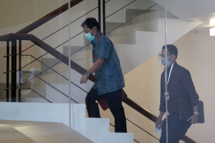 Rachmat Yasin Kembalikan Rp8,9 Miliar ke KPK