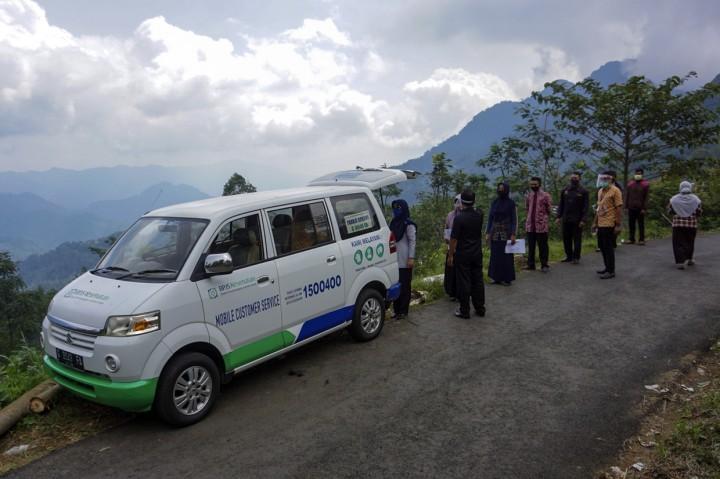 BPJS Lakukan Layanan Jemput Bola di Pelosok Desa