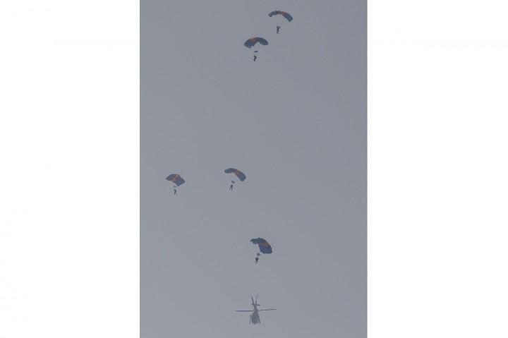 Menko Polhukam Mahfud MD Kunjungi Markas Korps Marinir