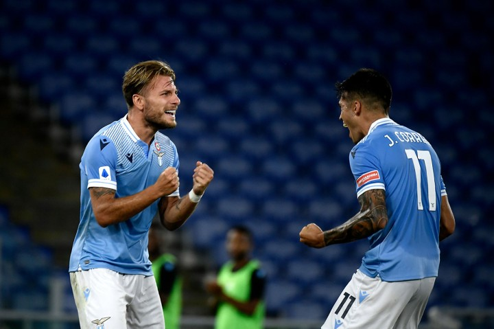 Lazio Tekuk Brescia 2-0, Immobile Pertajam Catatan Gol
