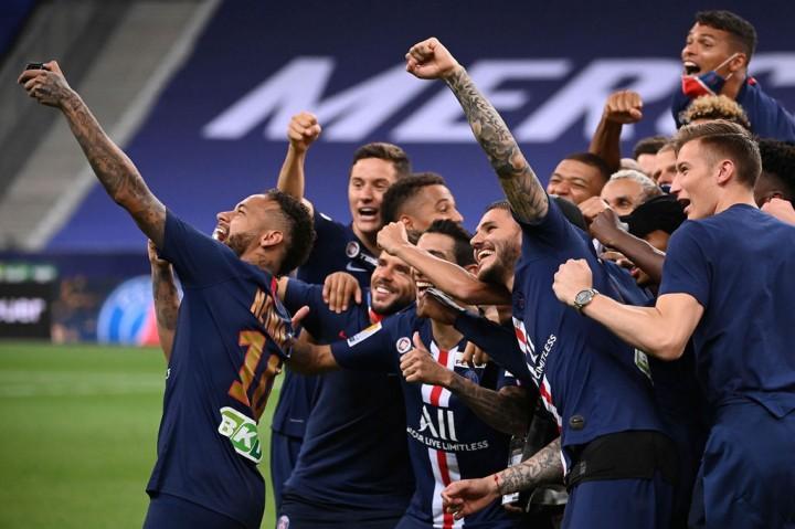 PSG Juara Piala Liga Prancis