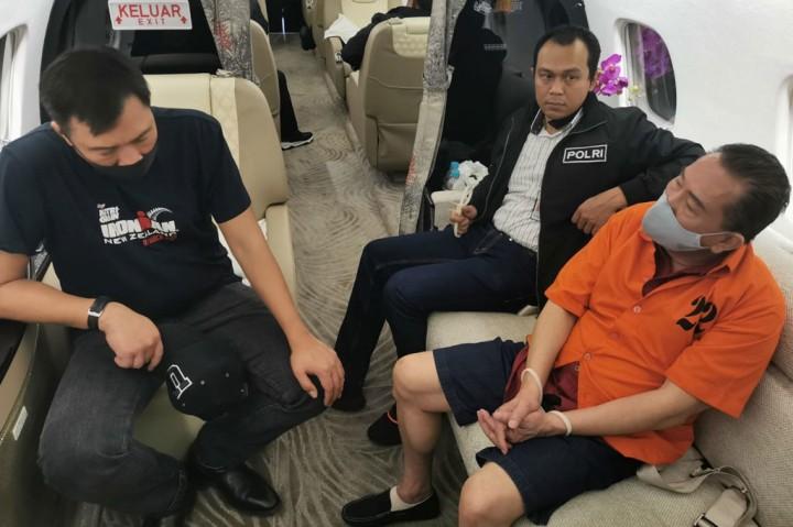 Saat Djoko Tjandra Diinterogasi Kabareskrim di Pesawat
