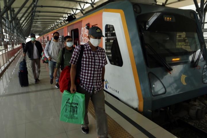 Kereta Bandara Kualanamu Kembali Beroperasi