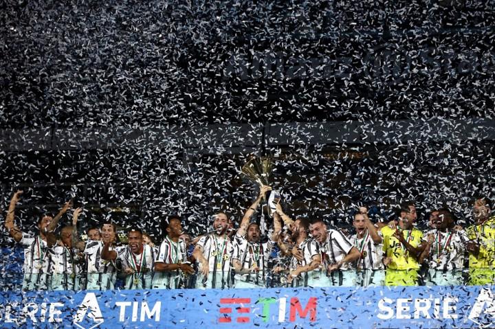 Juventus Rayakan Gelar Juara Liga Italia