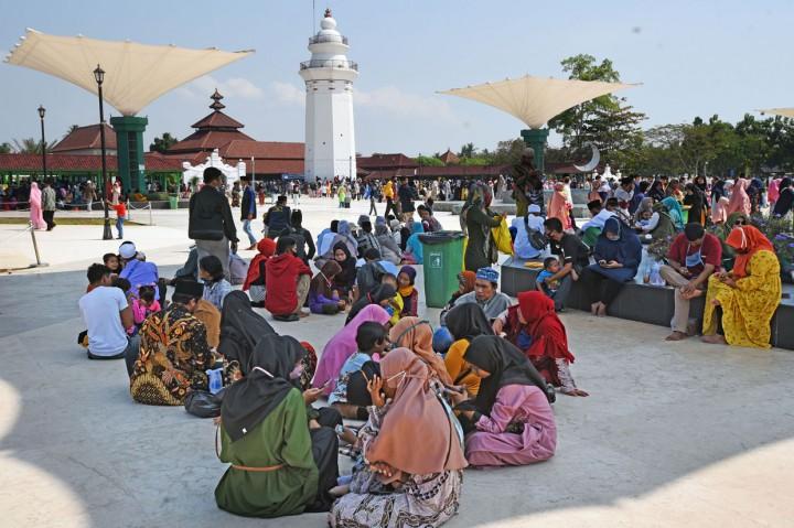 Libur Iduladha, Tempat Wisata di Banten Dipadati Warga
