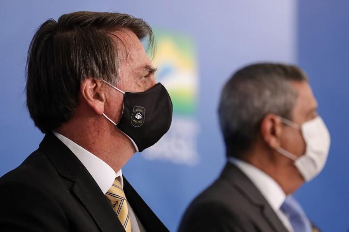 Kepala Staf Presiden Brasil Positif Korona