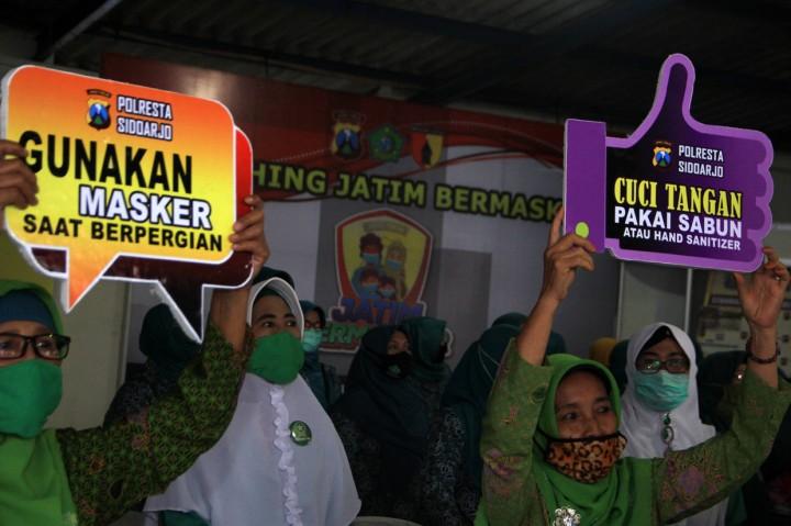Jawa Timur Luncurkan Gerakan Jatim Bermasker