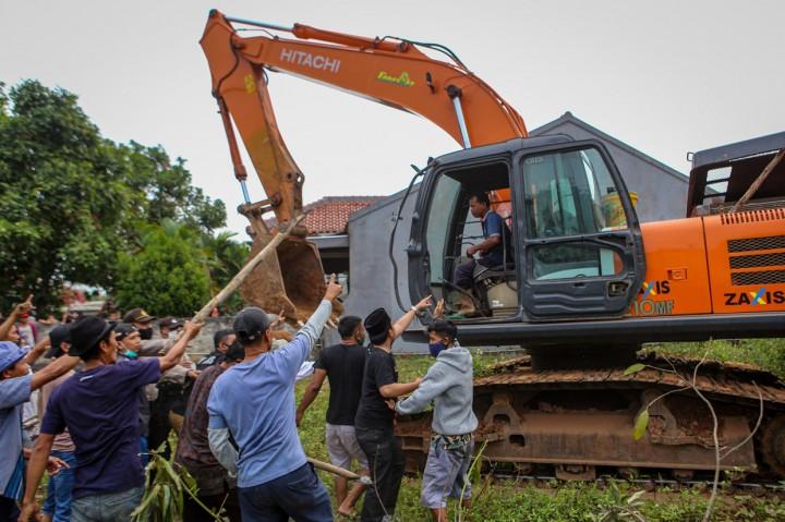 Warga Pinang Tangerang Tolak Proyek Tol JORR II