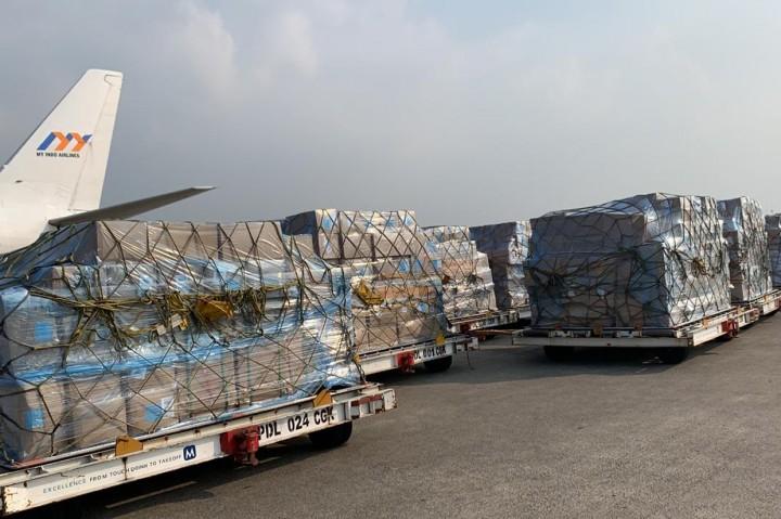 Satgas Covid-19 Kirim Bantuan Alat Kesehatan ke Aceh