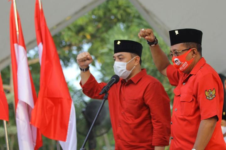 PDIP Resmi Ususng Eri-Armuji di Pilkada Surabaya