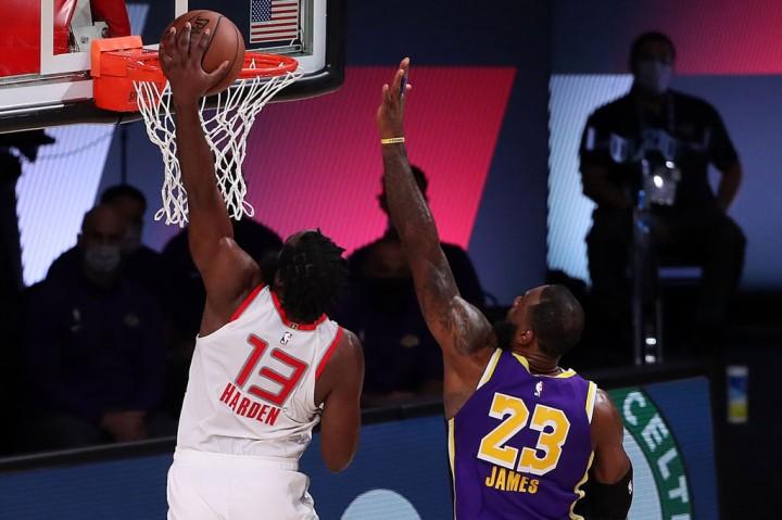 Rockets Tekuk Lakers di Gim Pertama Semifinal Wilayah Barat