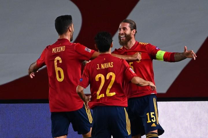 UEFA Nation League, Spanyol Bungkam Ukraina 4-0