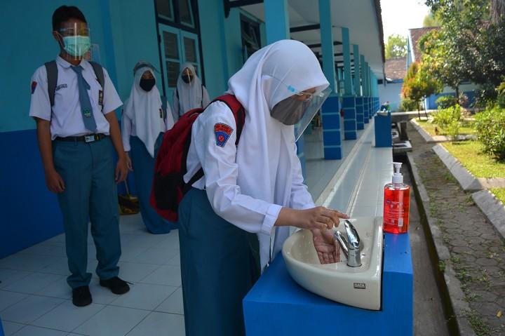 SMA di Jombang Mulai Gelar KBM Tatap Muka