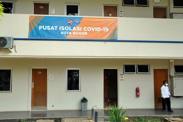 Gedung PPSDM BNN Jadi Pusat Isolasi Pasien OTG di Bogor