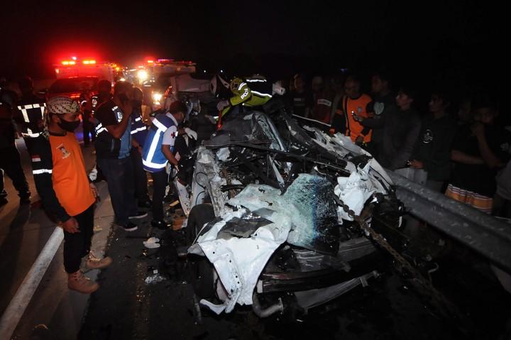 Kecelakaan Beruntun di Tol Solo-Semarang, Dua Tewas