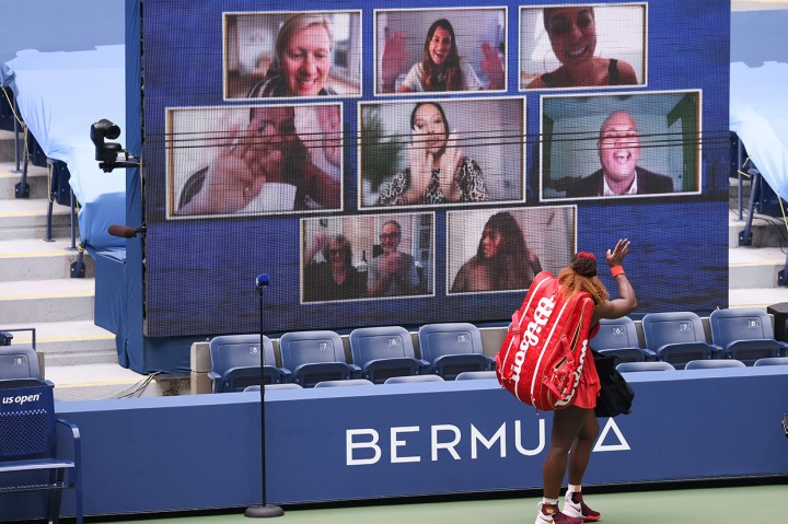 Serena Gapai Semifinal US Open