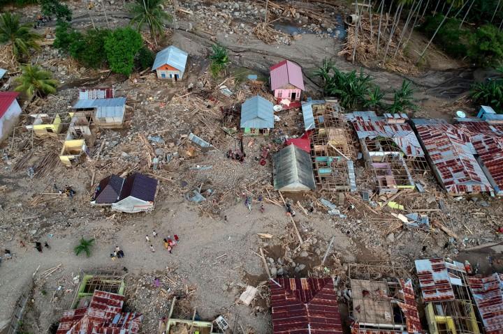 Kerusakan Akibat Banjir dan Longsor di Bone Bolango