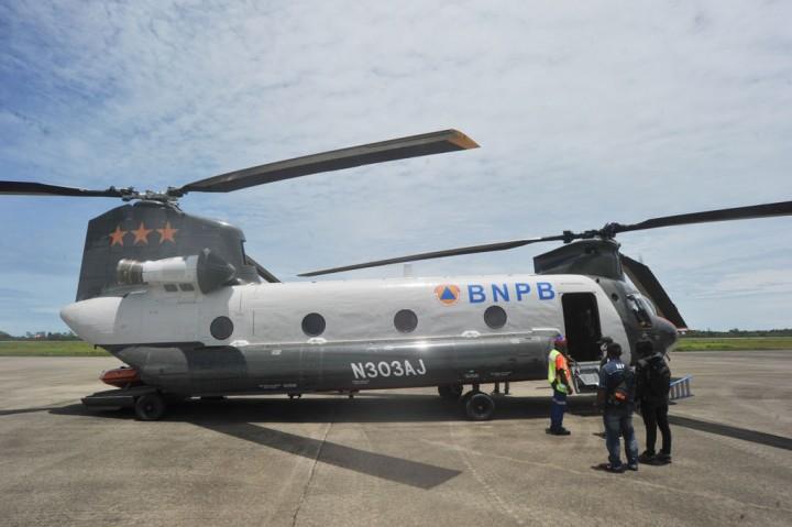 Bantu Penanganan Bencana, Helikopter Chinook Didatangkan ke