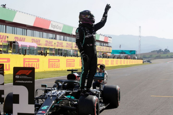 Hamilton Star Terdepan di GP F1 Tuscan