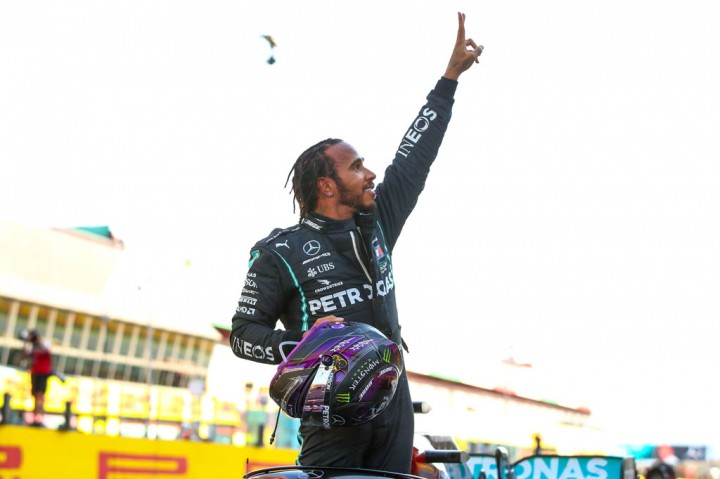 Hamilton Juarai GP Tuscan
