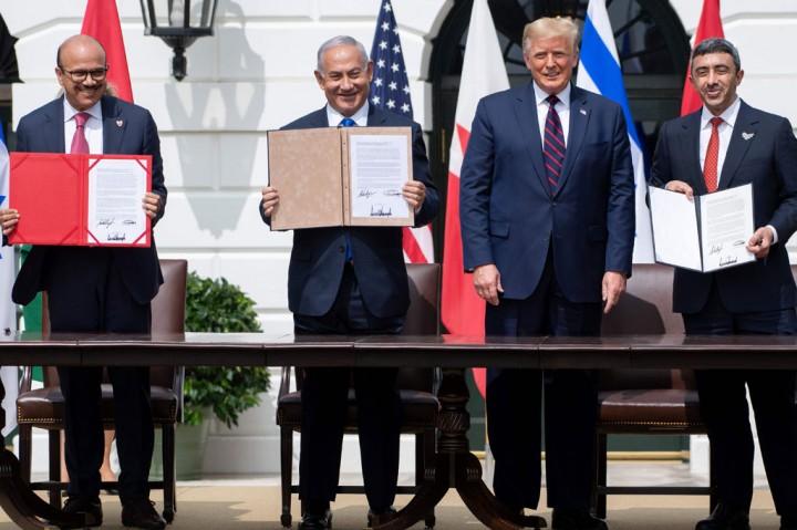 Israel Normalisasi Hubungan dengan UAE dan Bahrain