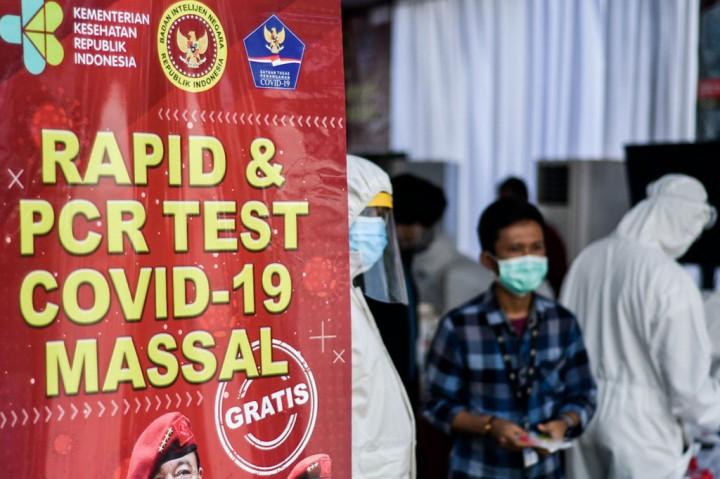 Karyawan Media Group Jalani Tes Swab