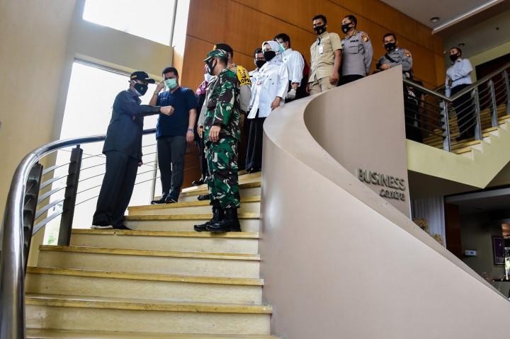 Pemprov Riau Sewa Hotel untuk Perawatan Pasien Covid-19