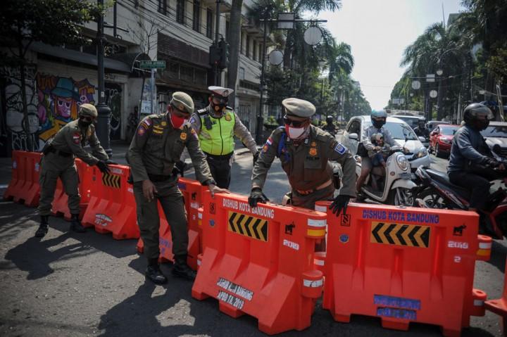 Pemkot Bandung Tutup Sejumlah Jalan Protokol