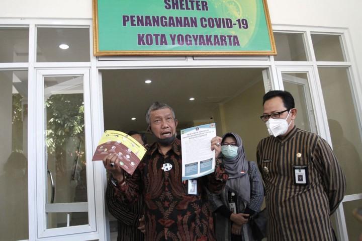 Pemkot Yogyakarta Bangun Shelter untuk OTG Covid-19