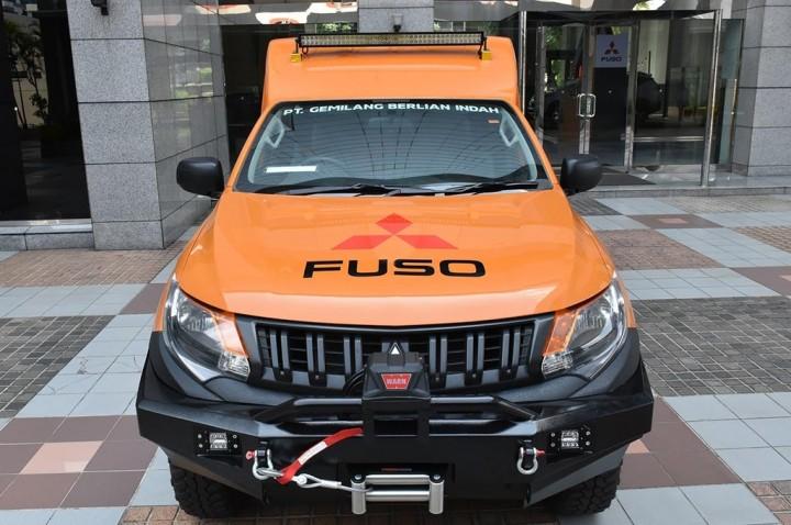 Menyulap Mitsubishi Triton Menjadi Mobile Workshop Service