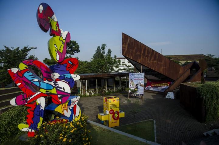 Taman di Kota Bandung Ditutup Sementara