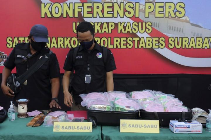 Polrestabes Surabaya Tembak Mati 2 Bandar Sabu
