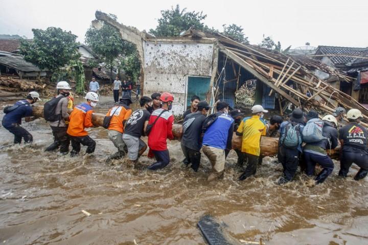 Begini Dampak Banjir Bandang Sukabumi