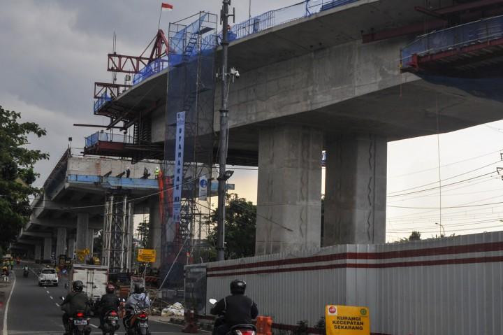 Pembangunan Flyover Cakung Ditargetkan Selesai Akhir Tahun