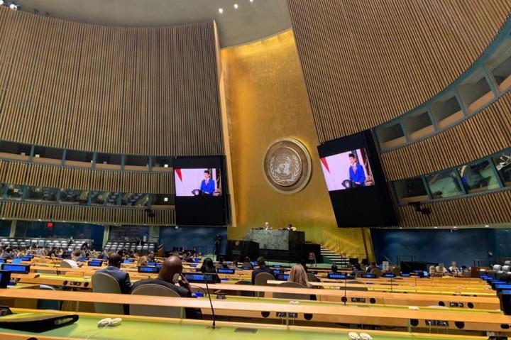Jokowi di PBB: Perlu Kesetaraan Akses Vaksin Covid-19