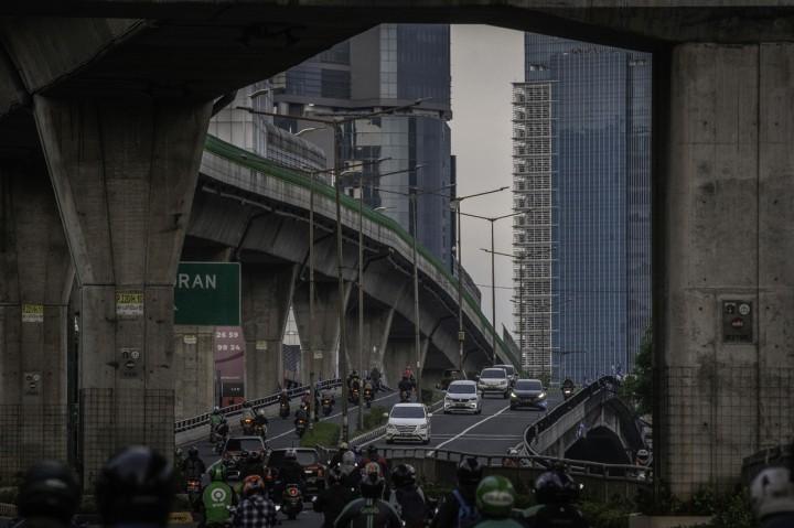 PSBB Jilid II, Volume Kendaraan di Ibu Kota Turun 19 Persen