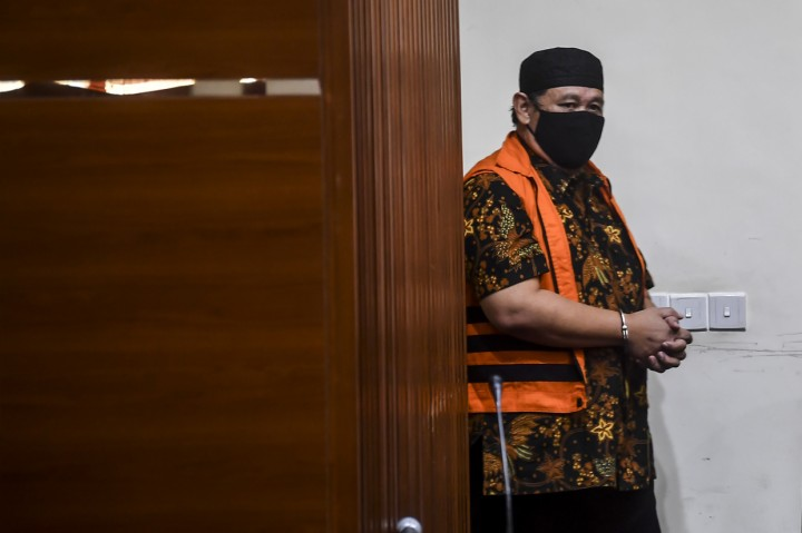 Eks Kadis PUPR Lampung Selatan Hermansyah Hamidi Ditahan KPK