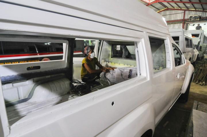 Perakitan Ambulans Meningkat 100 Persen Saat Pandemi
