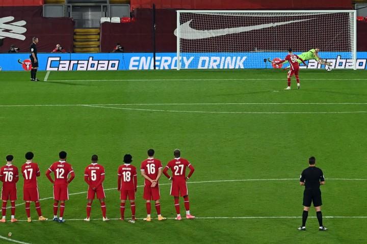 Arsenal Singkirkan Liverpool dari Piala Liga