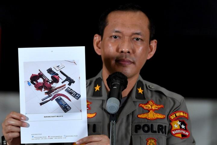 Densus 88 Tangkap 4 Orang Terduga Teroris Jaringan Jemaah