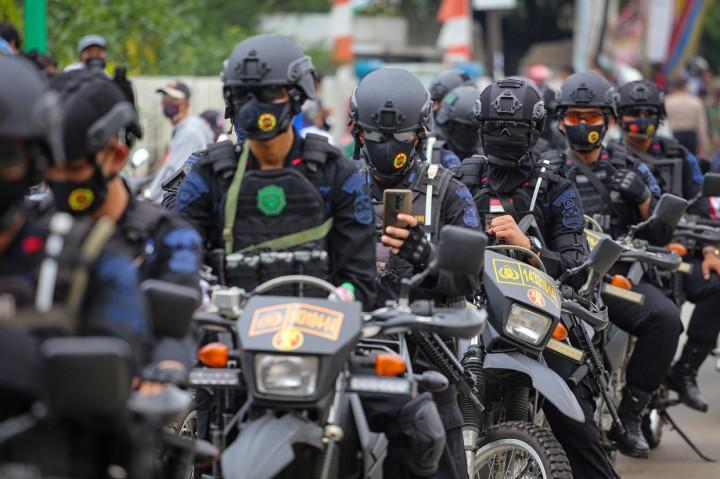 Tolak UU Cipta Kerja, Ribuan Buruh di Tangerang Mogok Kerja