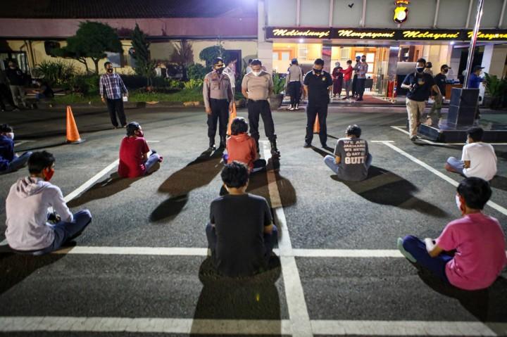 Hendak Ikut Demo ke DPR, 24 Pelajar di Tangerang Diamankan Polisi